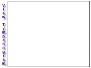 An empty tympanogram