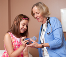 A School Asthma Clinic developed as a community partnership by pediatric nurse practitioner Kathleen Shanovich, RN, MS, provides underserved children in Madison with specialized care and helps reduce asthma-related school absences and emergency room visits.