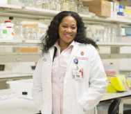 Dr. Mezu-Ndubuisi research program is one of five housed in the new space