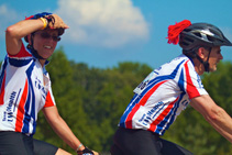 Dr. Allen and his wife Sally also biked the 200-mile Bike MS event in August 2011.