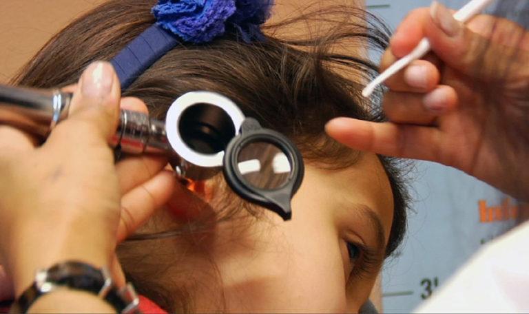 Caroline Paul Otoscope Ear Exam