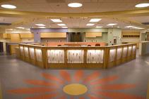 central staff reception desk