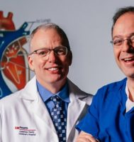J. Carter Ralphe, MD (Division Chief and Associate Professor, Division of Cardiology) and Petros Anagnostopoulos, MD (Associate Professor, University of Wisconsin Medical Foundation)