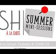 2021 DiSH A La Carte Session #3: Back to School: Diabetes & COVID-19
